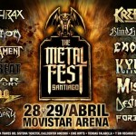 Atención metaleros: The metalfest 28 y 29 de abril