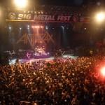 Presentación de Anthrax en Metal Fest de Chile